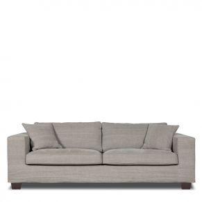 Meubels | Zitmeubelen | Loft, 3 zitsbank (lounge), Stof: Kiss 181 Stone - De Bommel Meubelen