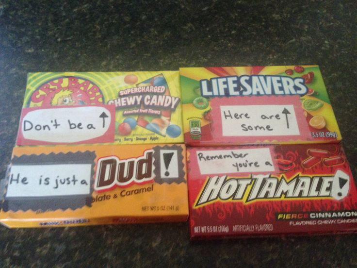 DIY Break up kit candy ideas