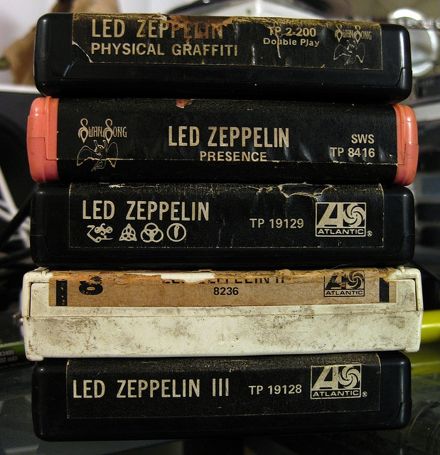 8 track player in our brown formica paneled Pinto but we didn't have Led Zep. The best he had was BTO.