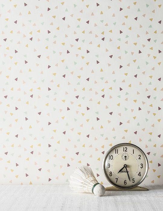 17 mejores ideas sobre ba os pintados en pinterest - Papel pintado ninas ...