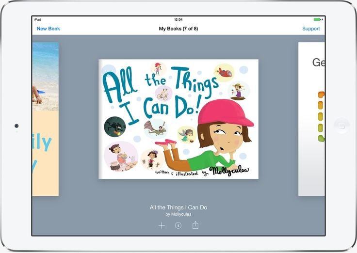 This resource allows students to share books, read books and create books.