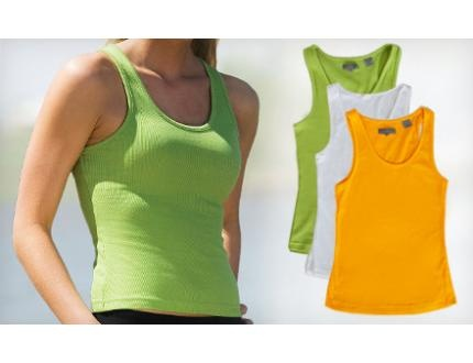 $19 for a Set of Three Zorrel Women's Dri-Balance Ribbed Racerback Tanks ($44.85 Value). Multiple Colors and Sizes Available.