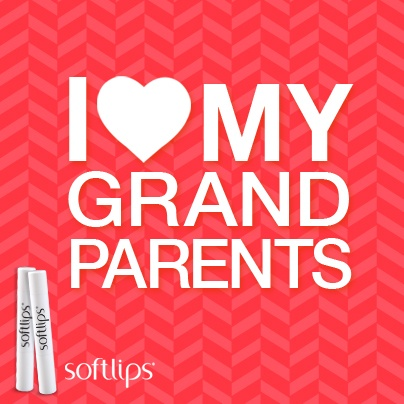 Softlips celebrated National Grandparents Day. Don't forget to show them lots of love today and every day!