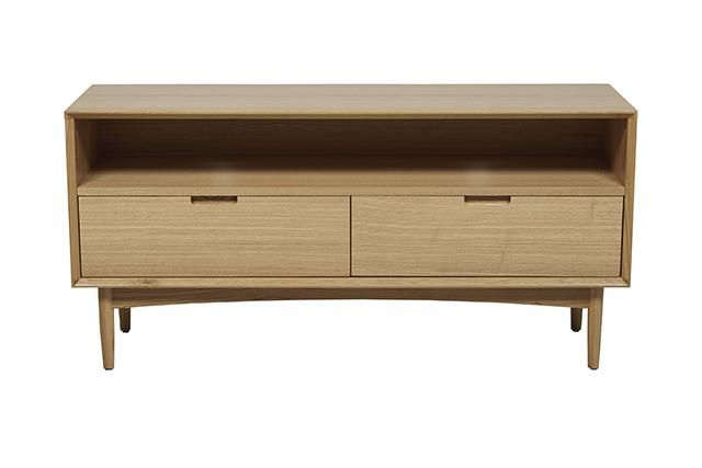 GlobeWest - Moss Small Open Entertainment Unit - W1220 x D370 x H590mm (W x D x H mm) $800.00 + shipping