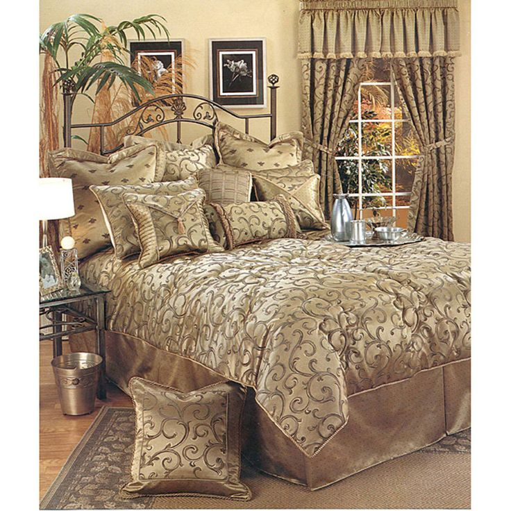 Sherry kline sherry kline 39 bellagio 39 6 piece king size comforter set bed bath decorative for 6 piece king size bedroom sets