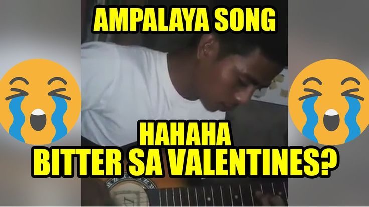 AMPALAYA SONG para sa VALENTINES DAY! - PilipinasTV - WATCH VIDEO HERE -> http://philippinesonline.info/entertainment/ampalaya-song-para-sa-valentines-day-pilipinastv/   PilipinasTV is your dose of news and entertainment in the Philippines. Watch the latest viral and trending videos and news in the Philippines. Website: PilipinasTV.com Facebook: Youtube:  Notice to the Public: This video may contain copyrighted materials. This video is for educational, news,...