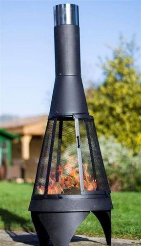 Feuerstelle Terrassenofen Buschbeck Colorado Mesh M Stahl