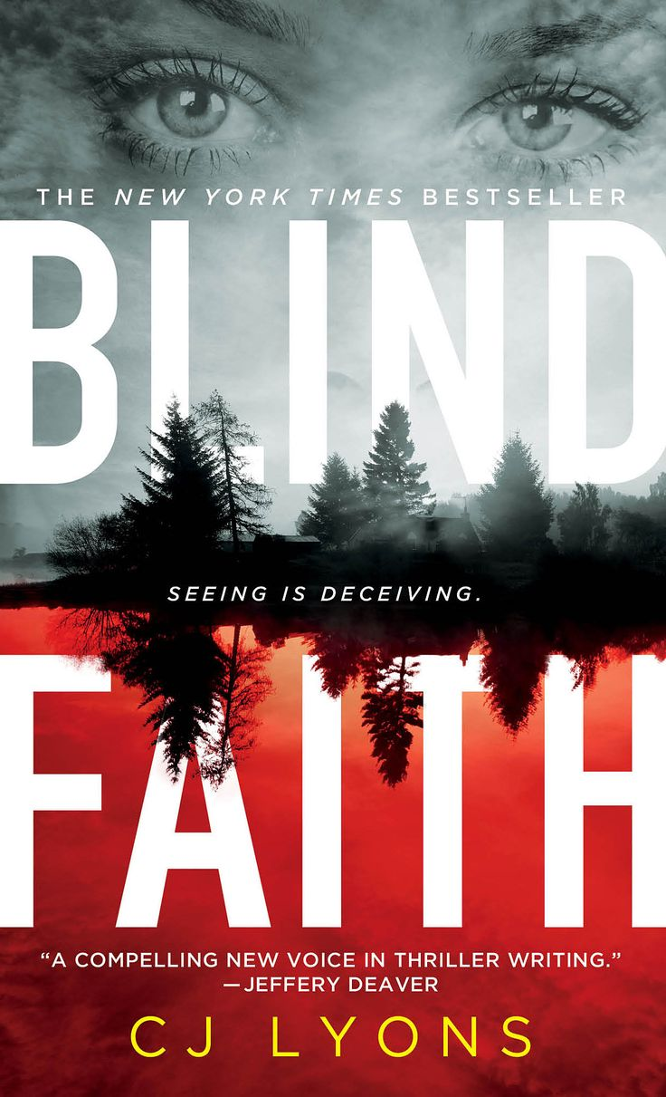 Blind Faith by NY Times bestselling author CJ Lyons