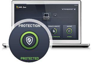 Instalación de Avg Protection, Paso tres, Protegido