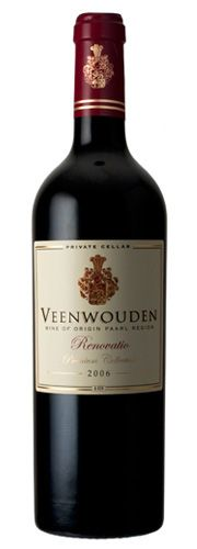 Veenwouden Renovatio 2006.  This Veenwouden blend exhibits pronounced berry, mocha-chocolate flavours and well harmonised tannins. Its appealing silky texture makes it the most seductive Veenwouden to date!