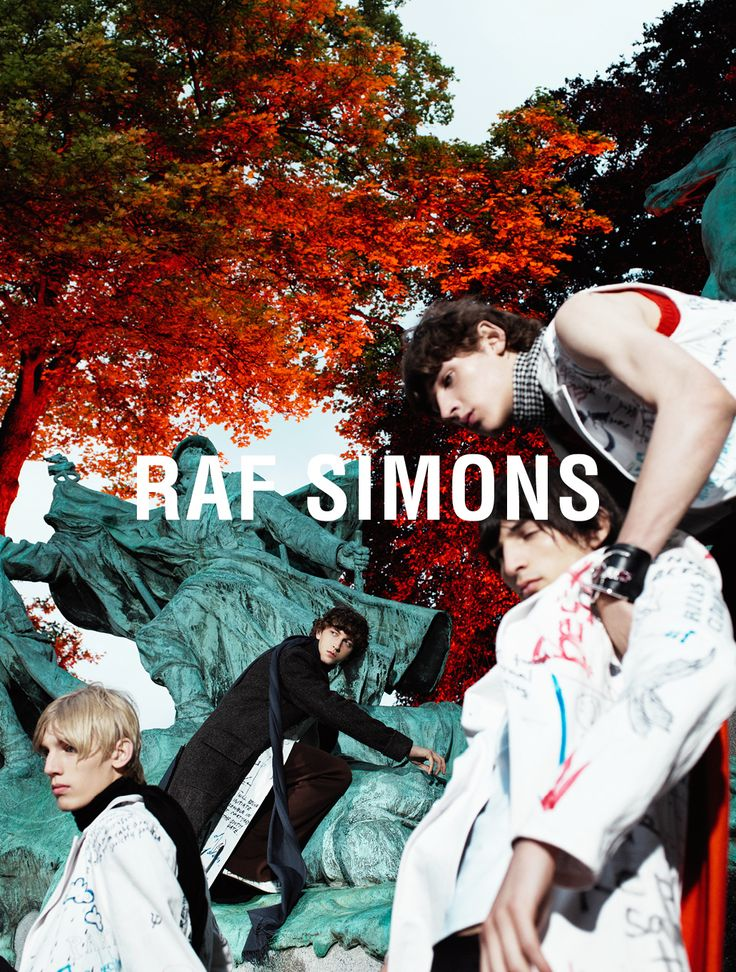 ph Willy Vanderperre  for  Raf Simons FW15/16 Campaign