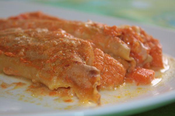 Crepes di farina d'avena integrale e farina di farro con succo d'arancia alla zucca - Pastella senza latte