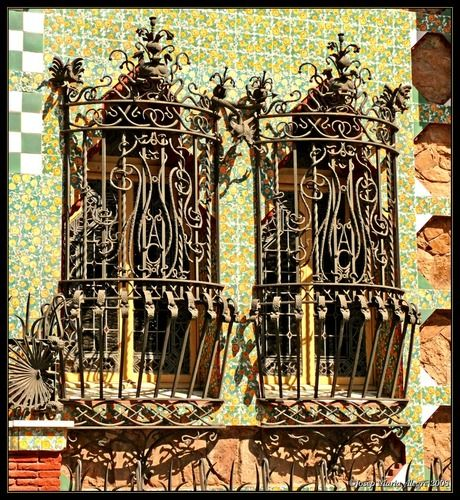 Casa Vicens (Barcelona) by Gaudi