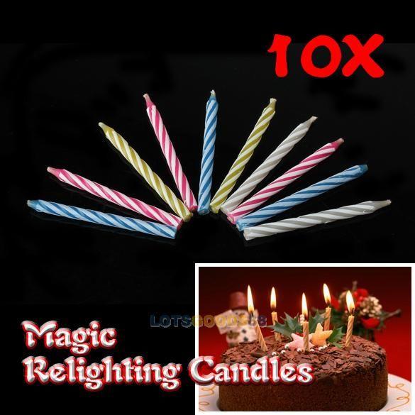 LS4G 2014 Новая Партия Свечи Вечный День Рождения Дуя Свечи Магия Свечи Tricky Игрушки Подарок Relighting N