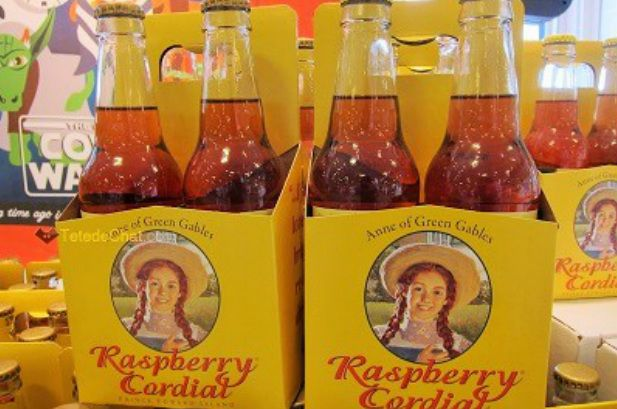 Raspberry cordial from PEI
