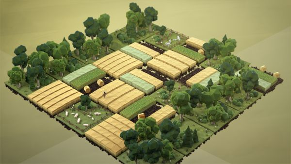 Let's Talk About Soil by Uli Henrik Streckenbach, via Behance - 3D Typography Design Modelling