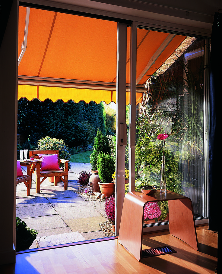 Shade your garden this summer with an awning from Barnes Blinds. #awnings #gardenparty : garden awnings and canopies - memphite.com