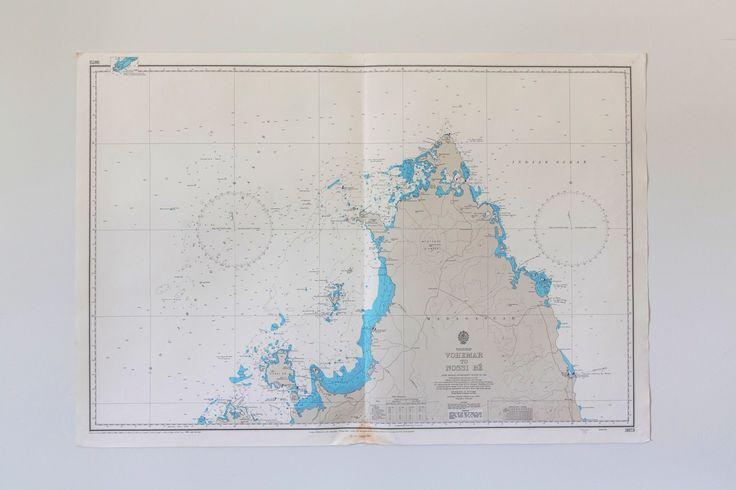 Vintage chart madagascar www.coastalvintage.com.au