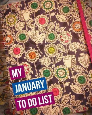 MY LIFE | My January 'To Do' List