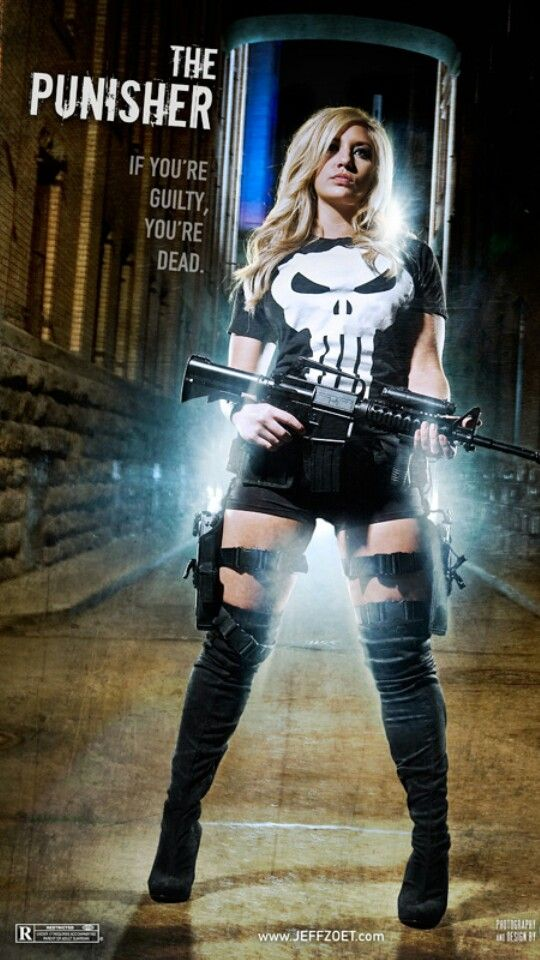 A female punisher