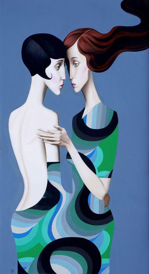 Slava Fokk  ''The Velvet''  150x80cm  oil on canvas  2013