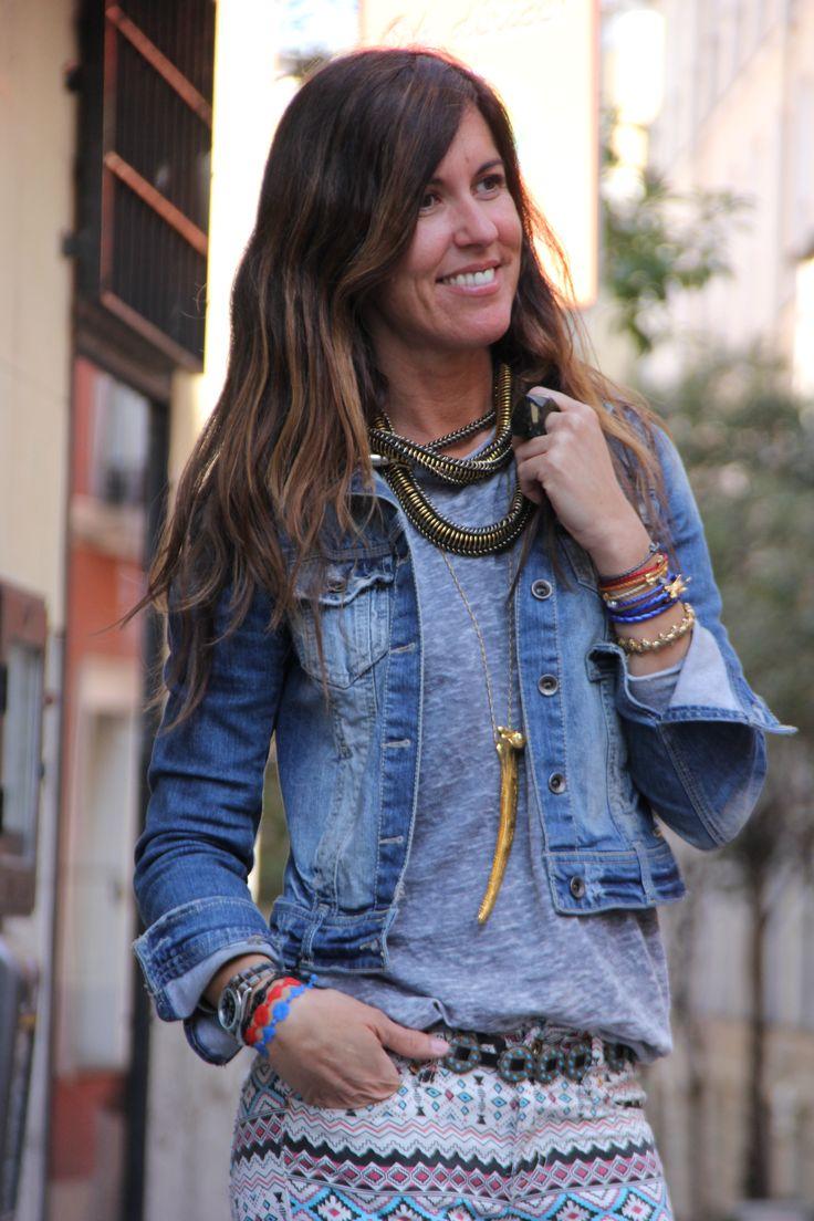 Elena Estaun & Mytenida. | mytenida en stylelovely.com