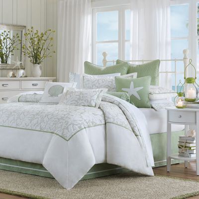 cal and Surf Decor for your Home  Home:: Tropical Bedding:: Cape Cod Bedding:: Cape Cod Comforter Set  Take advantage of FREE SHIPPING on all Tropical Bedding and Throw Pillow orders over $150!