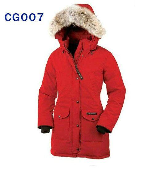 canada goose Sweatshirts ROSSO