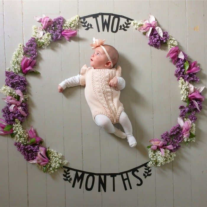 Two Months Old Monthly Photo Series Newborn Photography Monthly Baby Picture Ideas Baby S First S Monthly Baby Pictures Monthly Baby Photos Baby Photos