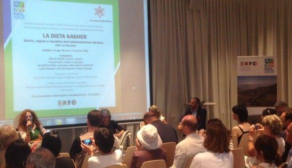 """Livro """"A Dieta Kosher"""" é lançado durante a Expo Milano."""