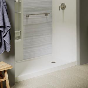 KOHLER® Showers | Walk-In Showers | Tub To Shower Conversions