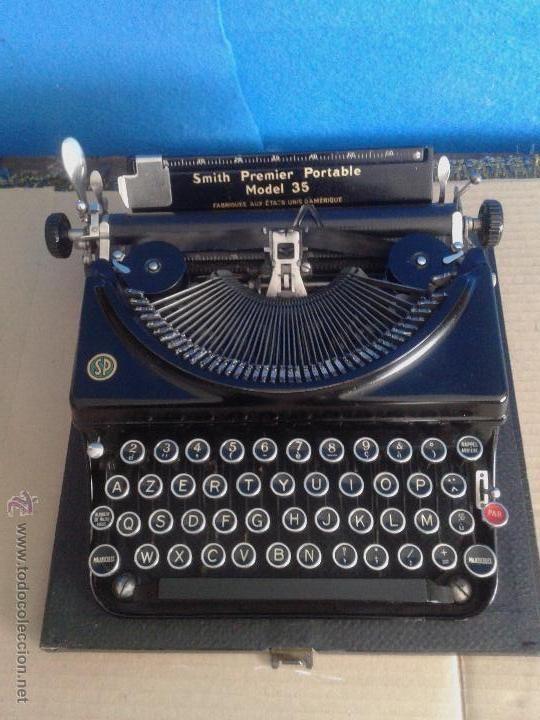 maquina de escribir antigua MADE IN USA muy rara buen estado funciona