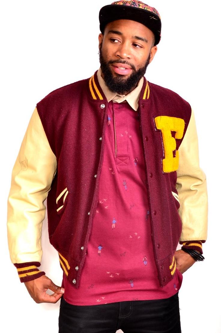 Vintage Butwin Varsity Jacket $49