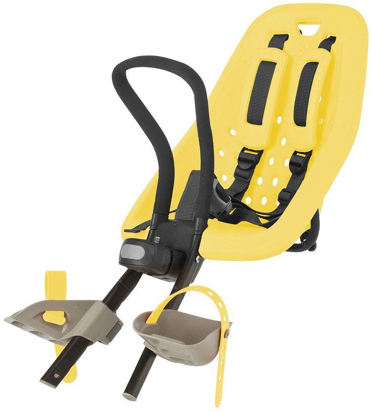 Thule Yepp Voorzitje Mini Yellow  Description: Met het Thule Yepp Yellow Mini kinderzitje kun je elke dag samen met je kind genieten van fietstochtjes veilig gemakkelijk en in stijl. Het voorzitje is een slim en functioneel fietszitje ontworpen en getest voor kinderen vanaf 9 maanden tot 3 jaar oud tot maximaal 15 kilogram. Het Thule Yepp mini voorstoeltje monteer je met de meegeleverde stuurpenadapter direct aan het stuur. Heeft je fiets een zogenaamd Ahead stuur gebruik dan de speciale…