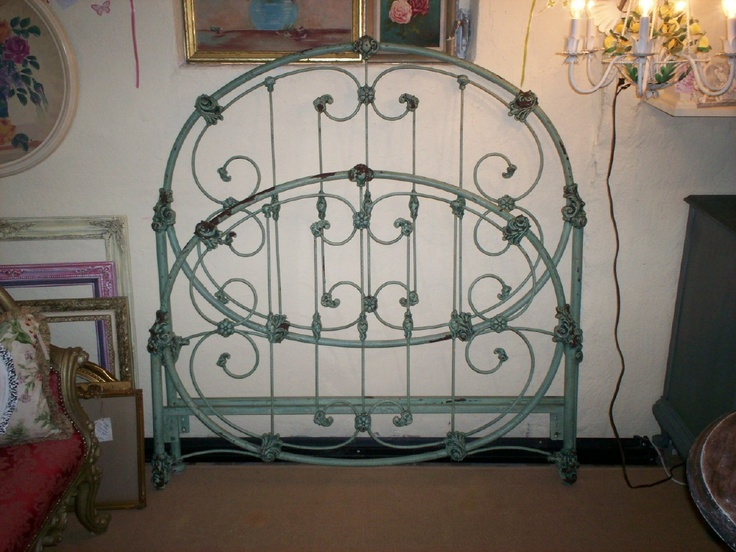 beautiful wrought iron bed