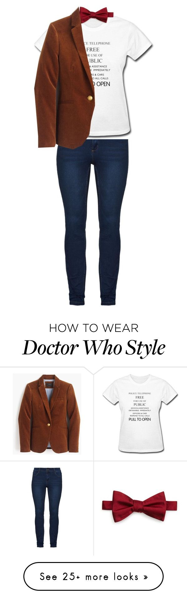 """Untitled #213"" by lisegi on Polyvore featuring The Men's Store and J.Crew"