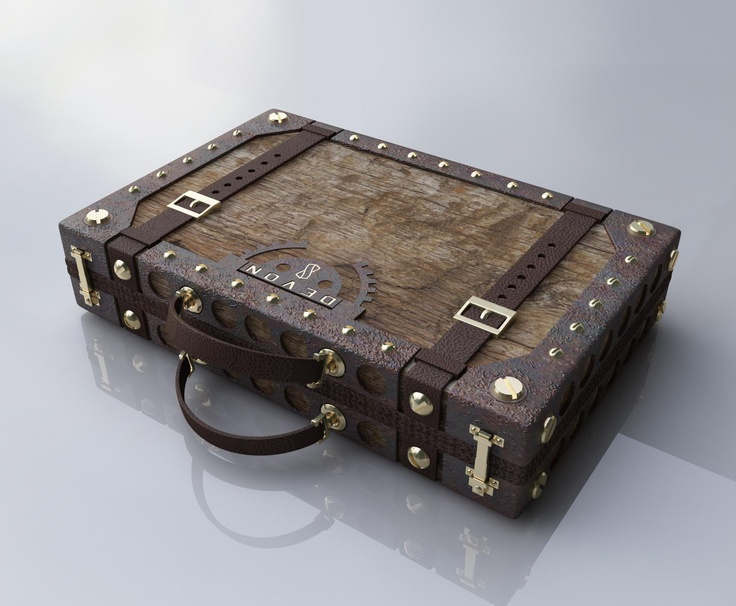Ring In The Steampunk Decor To Pimp Up Your Home: Briefcases, Steampunk And Devon On Pinterest