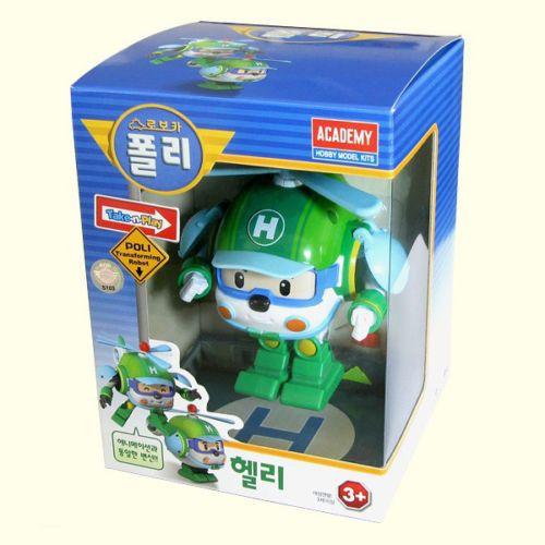 #Helly #RobocarPoli #Transformation #Robot Korea TV Animation #Academy Gift Car #Toys