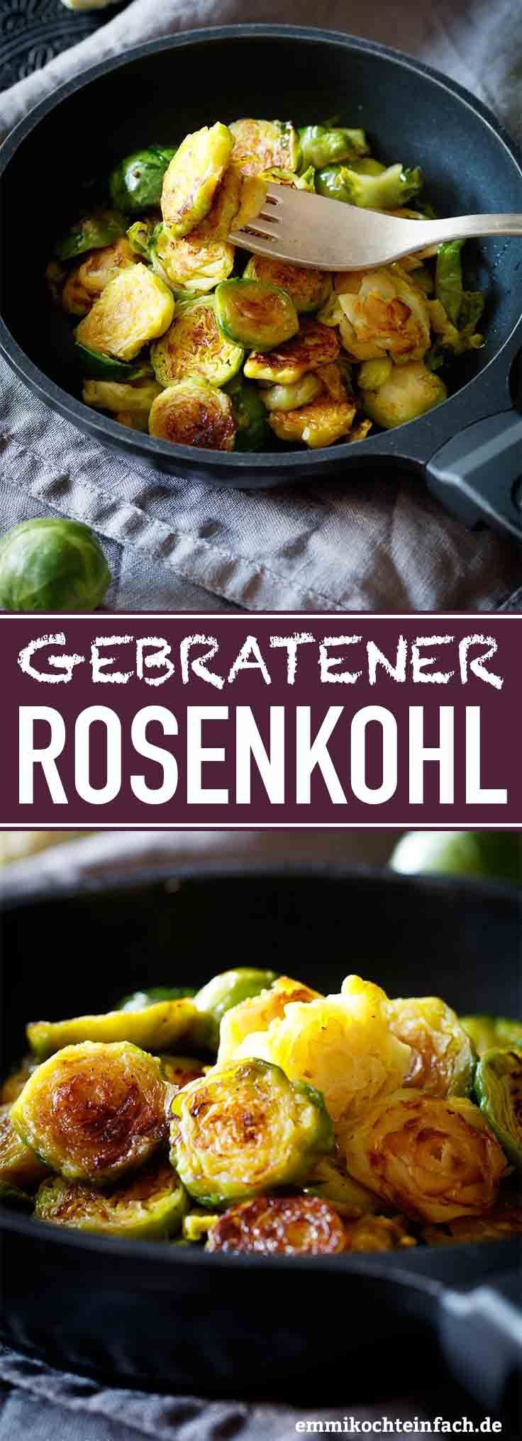 Fried Brussels sprouts   – Essen