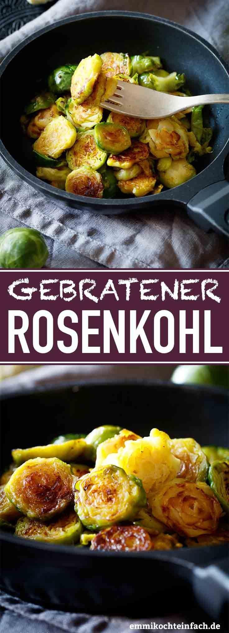 Gebratener Rosenkohl