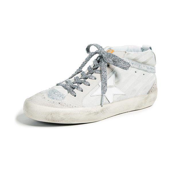 Golden Goose Mid Star Sneakers | Star
