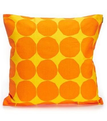 Pienet Kivet -tyynynpäällinen, keltainen-oranssi