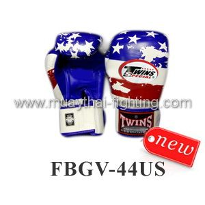 New Twins Special Fancy Boxing Gloves United States Flag FBGV-44US