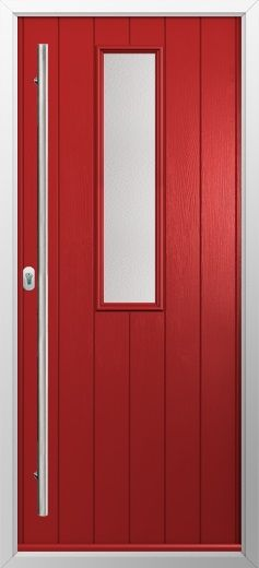 composite door example of one long in red high quality secure and in