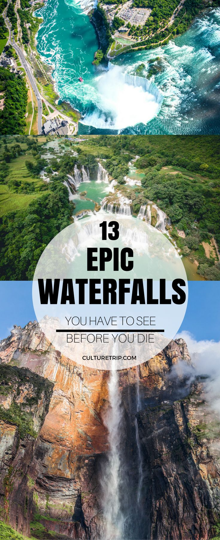 13 Epic Waterfalls You Have to See Before You Die|Pinterest: @theculturetrip