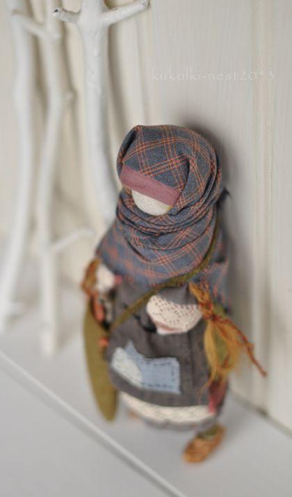 Коллекционные куклы ручной работы: Кукла-образ. Хельга. Handmade.