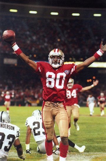 Jerry Rice..the best ever