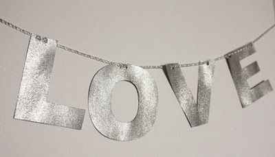 Silver: Diy Ideas, Diy Letters, Winter White Wedding, Silver Sparkle, One Fine Day, White Weddings, Glitter Letters, Diy Glitter, Front Porches
