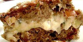 Kibe Recheado: Receita de Kibe de Forno com Recheio de Queijos delicioso kibe recheado assado, fácil de fazer saboroso kibe recheado com catupiry mussarela
