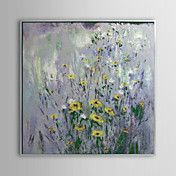 Floral Yellow Flowers Framed Oil Painting – AUD $ 106.24